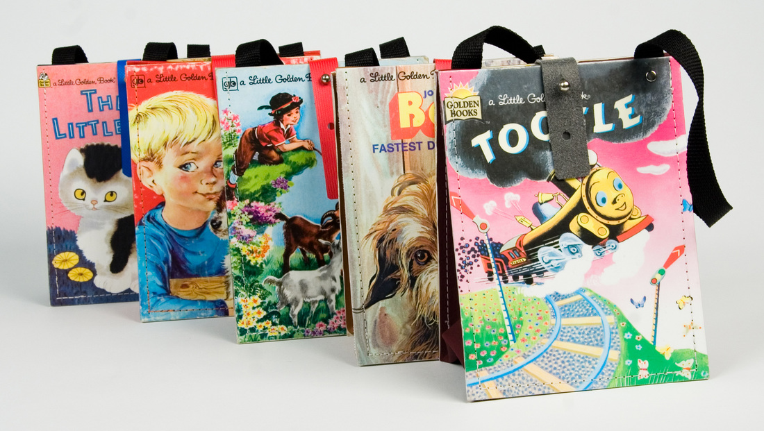 purses made out of children's books
